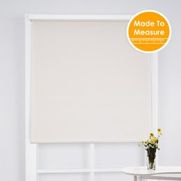 Wholesale vertical blinds fabrics - New Year Made to Order 95%UV Blocking Outdoor Blinds Contemp System Heat Insulation Sun Shade Roller Blinds for Office Bedroom