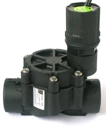 Válvula solenóide elétrica on-line-sistema de irrigação válvula elétrica do solenóide automático do sistema de extinção de incêndios de 1 polegada com controle de fluxo