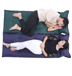 Wholesale Wholesale Air Mattresses - Outdoor Air Mattress Hiking Travel Camping Mat Water Resistant Thick Sleeping Bed Office Sleeping Pads DDA100