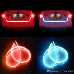 Wholesale luggage truck - 2017 NEWEST LED Car Styling Car Truck Tailgate LED Light Bar Luggage Compartment Lamp For Decoration Atmosphere Interior Exterior