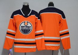 New Women Hockey Jerseys Edmonton Oilers Jersey  29 Draisaitl  99 97 and  Blank Orange Color Lady Jersey S-XXL Mix Order Stitched All Jerseys f75f79d4a