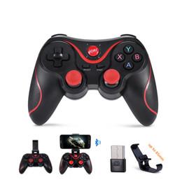 Juegos para smartphones online-X3 Wireless Bluetooth Gamepad Controlador de juegos para iOS Android Smartphones Game Pad para tabletas Windows PC TV Box