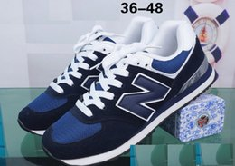 Wholesale black n tan - Women's Fashion Sneakers sports Casual shoes Free shipping N sneakers B men and women walking shoes size 36-44 Unisex brand
