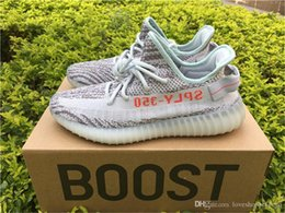Wholesale Fishing For Sale - Originals 350 V2 Boost Blue Tint B37571 Sply 350 Running Shoes for men Kanye West BELUGA 2.0 Yebra sneakers Online Sale with Box