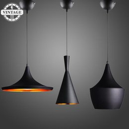 Wholesale Tom Dixon Beat Pendant Lamp - VintageIII Hot sale Tom Dixon Pendant Lamp 3pcs together ABC(Tall,Fat and Wide) Design by Beat Light modern lighting