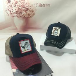 faff29329a1 2018 Embroidery Animal Caps Fashion Hip Hop Hat Breathable Mesh Baseball  Caps Summer Women Snapback Men Gorras Wholesale