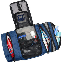 Wholesale wholesale zebra bags - Women Lady Makeup Cosmetic Case Toiletry Bag Zebra Travel Handbag Organizer New