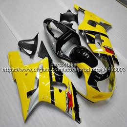 Canada 23colors + 5Gifts + ABS kits de carénage complet pour Suzuki GSX-R600750 2001 2002 2003 capot de moto GSXR 600 R750 K1 set de carrosserie en plastique ABS cheap gsxr k1 plastics Offre