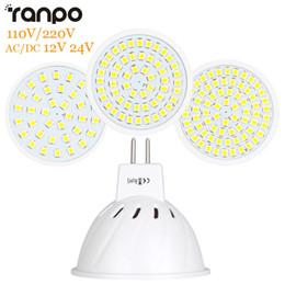 Lámpara LED MR16 Bombilla LED Foco Bombilla Lampada 36 54 72LEDs SMD 2835 Para Interior Home Spot Light AC 110V 220V DC 12V 24V desde fabricantes