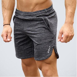 Vêtements d'entraînement de mode en Ligne-Mens été nouvelle remise en forme shorts mode loisirs gymnases Crossfit Bodybuilding Workout Joggers pantalon court masculin Marque vêtements