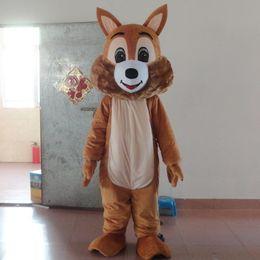 Wholesale Squirrel Mascot Costumes - Factory direct EVA Material Helmet Big tail squirrel Mascot Costumes Cartoon Apparel Birthday party Masquerade WS1015