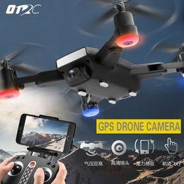 Altitudine gps online-Mini S9 Folden GPS RC Drone FPV Quadcopter grandangolare 720 P HD WIFI Camera Altitude Hold Intelligent Battery Aircraft