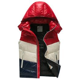 Giubbotto bianco girocollo online-18 anni di vendite calde 90% piumino d'anatra giacche uomo gilet bianco d'anatra gilet uomo gilet invernale gilet uomo di alta qualità