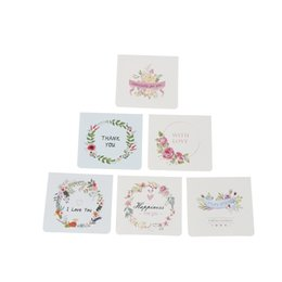 Wholesale valentine postcards - 2Pcs Blessing Envelope Greeting wedding birthday invitations Christmas postcard thank you gift party Valentine Cards