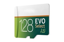 Wholesale Uhs Memory Cards - NEW 2018 Best Selling 32GB 64GB 128GB 256GB EVO select micro SD Micro SD 80MB   s UHS-I Class10 Removable Memory Card DHL Free