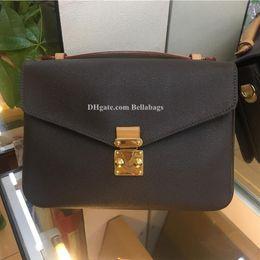 Canada 780 HIGH QUALITY ORIGINAL DESIGN Femme Sac Metis Bag Sac à main Créateur de la marque classique lettres vérifiées florales avec numéro de code Offre
