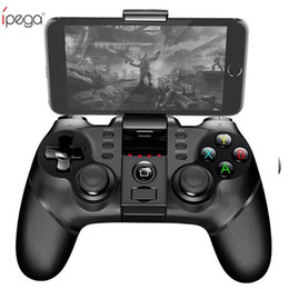 Argentina iPega PG Wireless Gamepad Controlador de juegos Bluetooth Gamepad Manija con TURBO Joystick para Android / iOS Tablet PC Teléfono celular TV Box cheap wireless gamepad for android tablet Suministro