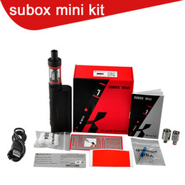 Kanger tech mini online-Kanger subox Mini Starter Kit misura Kbox 50w box mod tech OCC bobine vs Subtank Mini subtank plus nano DHL Spedizione gratuita 0266016-2