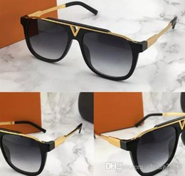 8a8a327371 2018 luxury men sunglasses brand designer 0937 square plate metal  combination frame top AAA quality anti-UV400 lens come with box