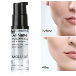make up samples Promo Codes - SACE LADY All Matte Pore Invisible Face Primer Smoothing Moisturizing Flawless Finish Makeup Base Sample Size 6ml Brand Facial Make up
