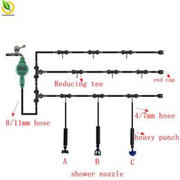 riego con temporizador de agua Rebajas 4 / 7mm to 8 / 11mm 20 M Temporizador Regulador de riego Trajes de riego automático Sistemas de micro sistemas de riego