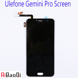 gemini pro Coupons - New Original Ulefone Gemini Pro 1920X1080 LCD Display+Touch Screen Assembly Repair Part 5.5 inch Mobile For Ulefone Gemini Pro