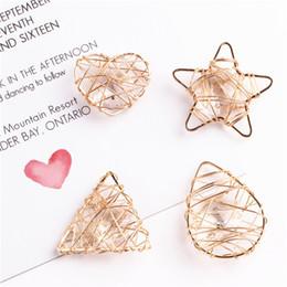 2019 золотая звезда кулон ожерелье Doreen Box Metal Pendant Charms Golden Hollow Heart Star Clear Rhinestone Jewelry Accessories For Necklace Earrings Making 2 pcs дешево золотая звезда кулон ожерелье