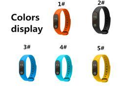 bluetooth armbänder armbänder Rabatt M2 Smart Armband Fitness Tracker Smart Watch Pulsmesser Wasserdicht Smart Armband Schrittzähler Anruf erinnern Gesundheit Armband