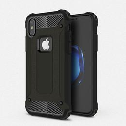 Pour Iphone X 8 7 6S 6 PLUS Samsung S9 S8 Plus Note 8 Hybride Armure TPU Aluminium Dur Coque Double Couche Slim Wave ShockProof Protecteur De Couverture De Peau ? partir de fabricateur