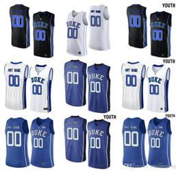 2019 v basquete basquete basquete Duke Blue Devils dos homens personalizado V Neck faculdade juventude basquete Elite Jersey - branco preto azul royal desconto v basquete basquete basquete