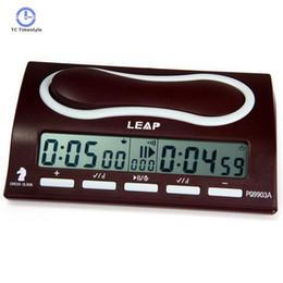 26110838415 Multifuctional Relógio De Xadrez Portátil Digital Board Competição Contagem  Up Down Jogos de Xadrez Temporizador De Alarme Eletrônico Profissional