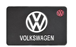 2019 mat vw Tapis antidérapant de voiture pour Volkswagen vw polo passat b5 b6 b7 coléoptère golf4 5 7 tiguan anti-dérapant tapis tableau de bord téléphone titulaire Car Styling mat vw pas cher