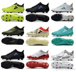 Wholesale Cheap Soft Boots - 2018 X 17.1 FG Soccer Shoes Football Boots Best Quality Discount Cheap Wholesale Lows Men Soccer Cleats Turf Futsal