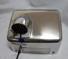 Handy-trockner online-rostfreier 360-Grad-Turn-Jet-Schnelltrockner / Hotelkrankenhausbadezimmerschulbacken-Handy-Händetrockner mit Knopf