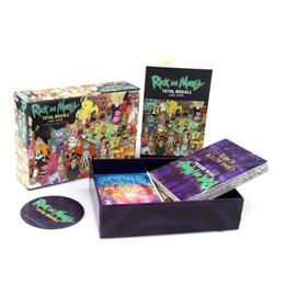 Scheda di piombo online-Stella principale Rick e Morty Total Rickall Gioco di carte Gioca a Game Cards Collection for Fun
