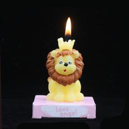 kaktus kerzen großhandel Rabatt Hohe Qualität Lion Kaninchen Schaf Kerze Happy Birthday Party Hochzeit Weihnachtskerzen Dekoration Stabile Mittelstücke Liefert Weihnachtsgeschenk