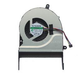 Ventilateurs sunon en Ligne-Nouveau ventilateur de processeur pour ordinateur portable pour ASUS N551 N551JW N551JK N551JK SUNON MF75090V1-C330-S9A DC5V