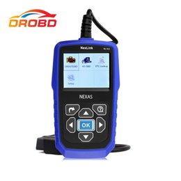 Wholesale heavy duty truck diagnostic scanner - Diagnostic Tool NexLink NL102 Heavy Duty Trucks Diesel OBD2 CAN Car and Truck 2 in 1 Diagnostic Scanner Update online