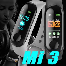 2019 спортивные часы М3 водонепроницаемый здоровье деятельность фитнес-трекер цветной экран Спорт смарт-часы с сердечного ритма кровяное давление сна монитор ПК XIAOMI fitbit дешево спортивные часы