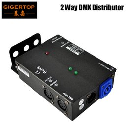 Wholesale Voltage Protection - New Arrival Multiple Installation Methods 2 Channel DMX Distributor High Voltage Protection Independent Input and Output Signal