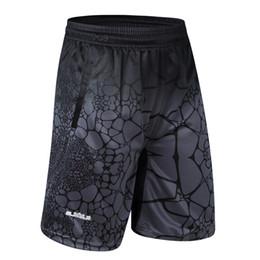 pantalones cortos de lebron Rebajas 2018 estrellas baratas LBJ LeBron James Baloncesto Shorts de secado rápido entrenamiento transpirable Basket-Ball Jersey Sport Running Shorts Men Sportswear