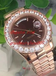 Wholesale automatic machine products - New Product Luxury Brand AAA Quality 228349RBR Diamond Men's Watch Roman Dial Automatic Machine 43mm Stainless Steel Automatic Men'