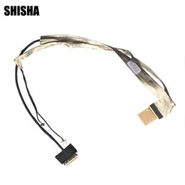 wholesale lvds cable Coupons - 10pcs lot Shisha New LVDS LED LCD Video Flex Cable For ASUS X42 K42 X42J K42JR K42JC K42JV A40J A42 A42J Screen Display Cable