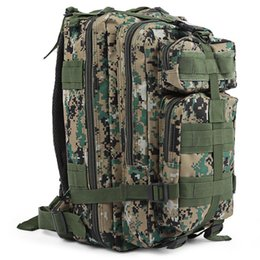 Wholesale Tactical Molle Fabric - 9 colors High Quality 30L Hiking Camping Bag Military Tactical Trekking Rucksack Backpack Camouflage Molle Rucksacks Attack Backpacks