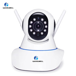 Fotocamera p2p indoor online-Telecamera IP wireless Graneywell 1080P 2.0MP Mini telecamera Wifi Home Security IP Indoor Baby Monitor Video Kamera Smart P2P