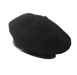 Deutschland Wollmischung Barett Caps Boina Feminina Künstler Barett Flache Kappen Hüte Für Frauen Maler Hut Weibliche Kappe Kürbis Versorgung