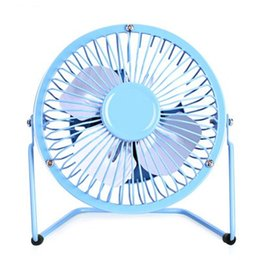 Wholesale Usb Desk Fans - D-LIVE Mini Table Desk Personal Fan and Portable Metal Cooling Fan for Office Home School and Camping, High Compatibility, Power Saving with