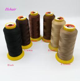 Canada 10pcs fils de tissage / fil de nylon polyamide haute intensité / outils d'extension de cheveux Offre