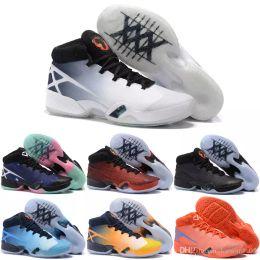Wholesale Leopard Shoes Cheap - Cheap Wholesale 2018 Cheap Basketball Shoes Men Retro 30 XXX Boots Top Quality Sneakers For Sale J30S Sports Shoes Size
