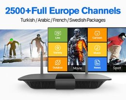 Wholesale Vod Tv - Europe IPTV Box Android 6.0 tv box with one years IUDTV 2500 Channels VOD Movie VIP Sports IPTV Italy Germany Spain Sweden IPTV Top Box